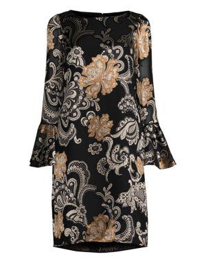 Jorie Paisley Shift Dress