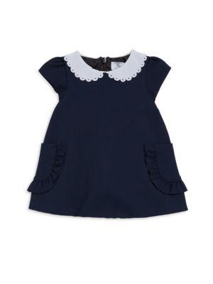 Baby Girl's & Little Girl's Peter Pan Collar A-Line Dress