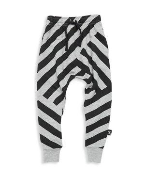 Baby Boy's, Little Boy's & Boy's Striped Baggy Pants