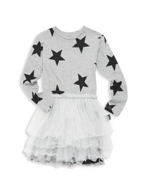 Baby Girl's, Little Girl's & Girl's Star Tulle Dress