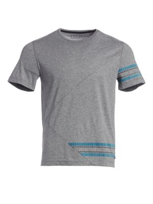Placement Linear Cotton Tee
