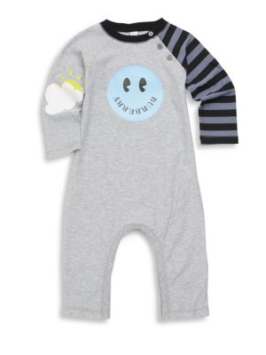 Baby Boy's Smiley Coverall