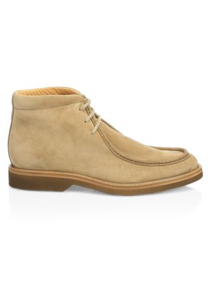 COLLECTION Suede Contrast Sole Desert Boots