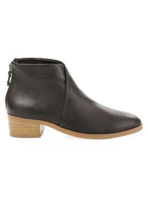 Venetian Leather Booties