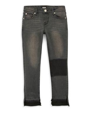 HUDSON | Girl's Venice Crop Skinny Jeans | Goxip