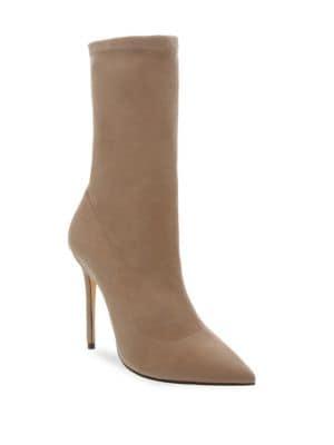 Krysta Suede Mid-Calf Boots