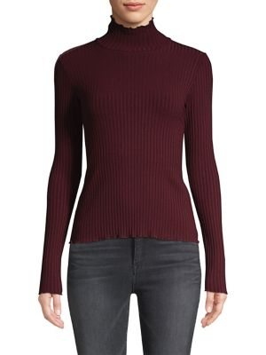 Ribbed Turtleneck