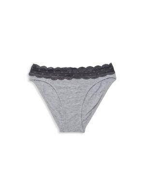 Lace Bikini Fit Briefs