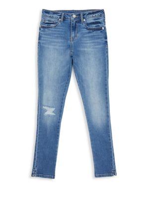 HABITUAL GIRL | Girl's Skinny Jeans | Goxip