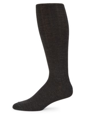 COLLECTION Wide Rib-Knit Crew Socks