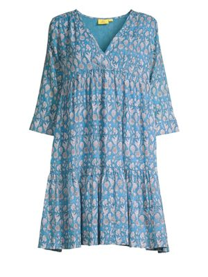 ROLLER RABBIT Norbu Donatella Empire Waist Dress