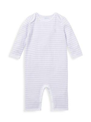 Baby Girl's Striped Romper