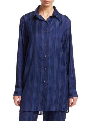 Oversize Pajama Shirt