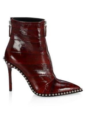 Eri Studded Leather Booties