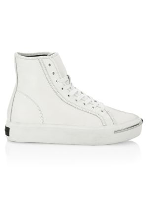 ALEXANDER WANG Pia Leather Chunky Sneakers