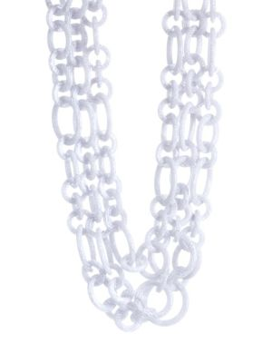Broadway Tiered Chainlink Necklace