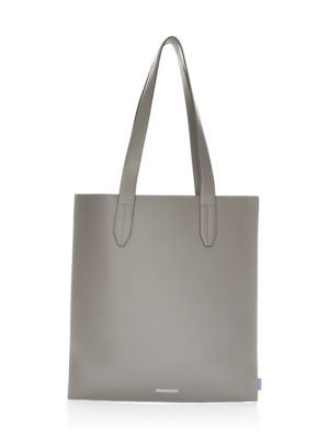 URI MINKOFF York Leather Open Top Tote Bag