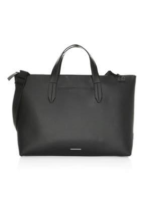 URI MINKOFF Devin Leather Zip-Top Tote Bag