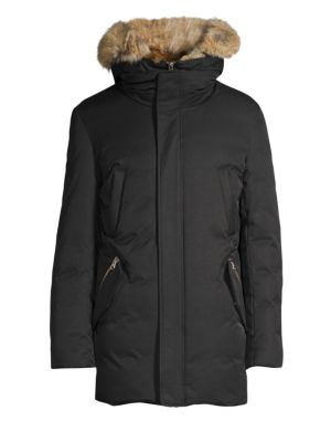 Edward Coyote & Rabbit Fur Parka
