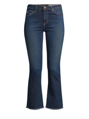 Jodi High-Rise Crop Flare Jeans