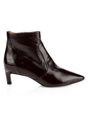 Marilisa Patent Leather Ankle Boots