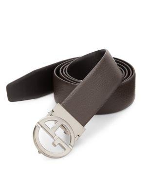 GA Reversible Leather Belt