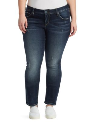 Faded Stretch Jeans
