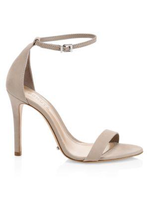 Cadey-Lee Suede Ankle-Strap Sandals