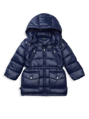 Little Girl's Quilted Down Coat