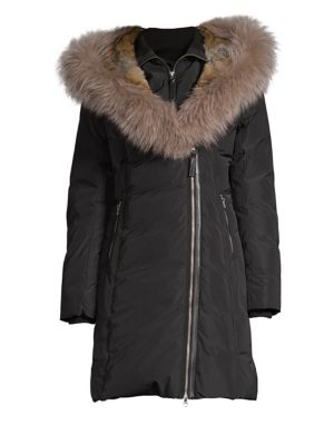 MACKAGE Fur Collar Down Parka