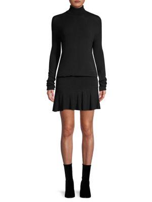 Anastasia Ruffle-Hem Sweater Dress from Saks Fifth Avenue