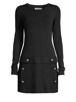 Oksana Wool Blend Mini Dress from Saks Fifth Avenue