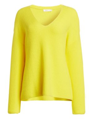 A.L.C Sierra V-Neck Ribbed Sweater