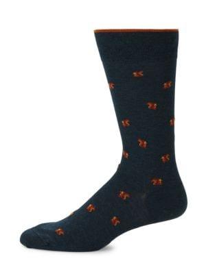 Squirrel Mid-Calf Socks