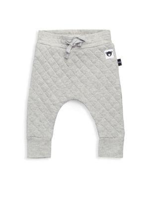 Baby's & Little Kid's Stitch Fleece Pants