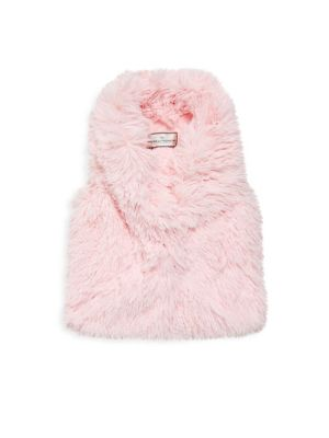 Little Girl's & Girl's Faux Fur Vest