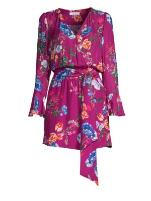 PARKER Amanda Floral-Print Wrap Dress