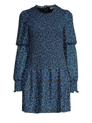 Lily Ruched A-Line Dress