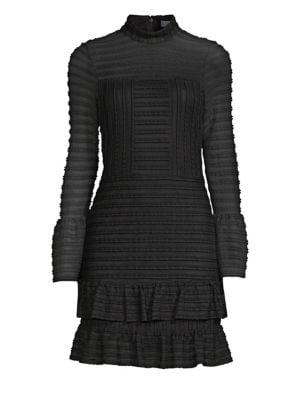 PARKER Topanga Ruffled Sheath Dress