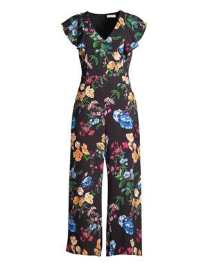 PARKER Tommi Combo Print Jumpsuit