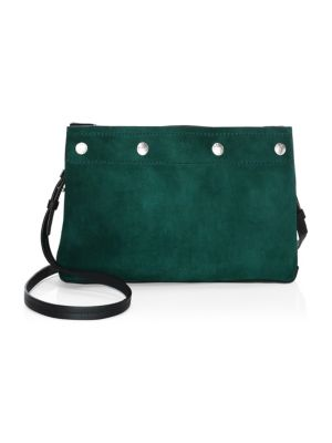 Compass Leather Crossbody Bag