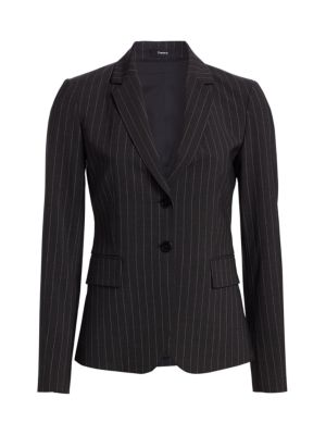 Carissa Pinstripe Suit Jacket