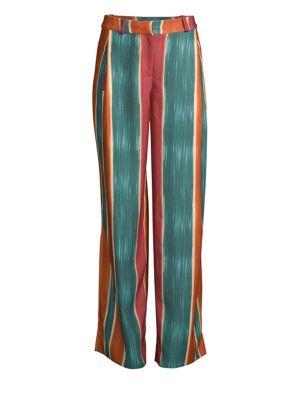 PATBO Striped Wide Leg Pants