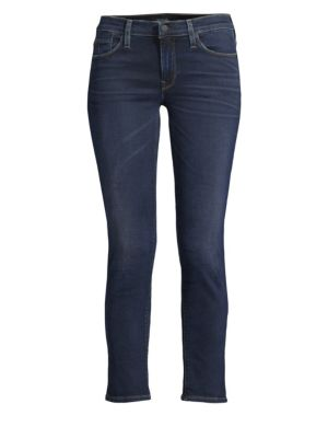 Mid-Rise Tally Cropped Skinny Jeans