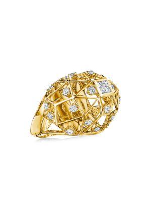 Bahia Estelar 18K Yellow Gold & Diamond Ring