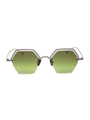 The Line 47MM Hexagonal Sunglasses