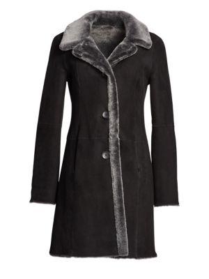 Lamb Shearling Reversible Coat
