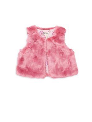 Baby Girl's Faux Fur Vest