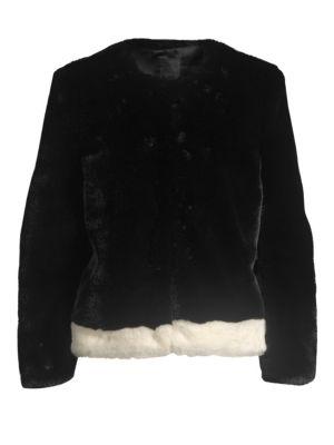 Faux Fur Plush Jacket