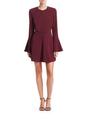 A.L.C Trixie Bell Sleeve Mini Dress